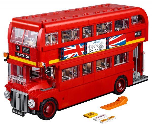 Huur de LEGO Londense Bus