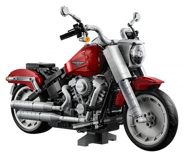Huur de LEGO Harley-Davidson Fat Boy