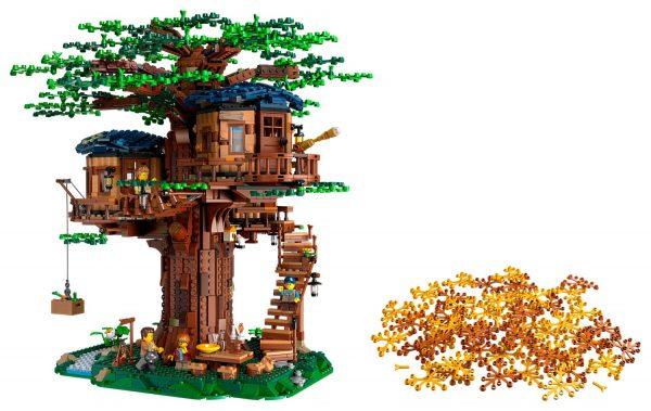 Huur de LEGO Boomhut