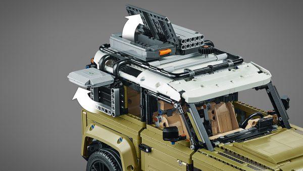 Huur de LEGO Land Rover Defender