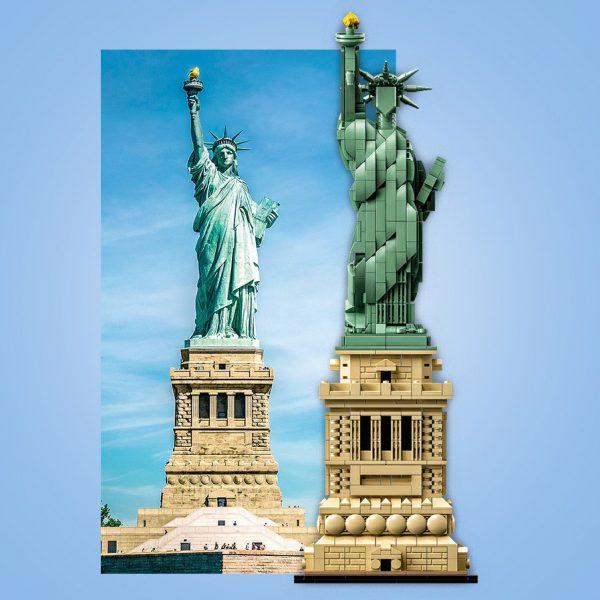 Huur het LEGO Vrijheidsbeeld