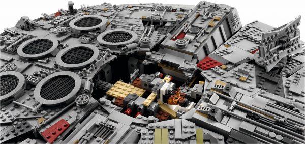 Huur de LEGO Millennium Falcon