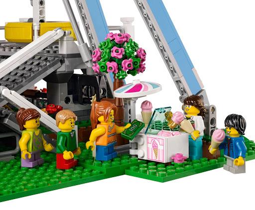 Huur het LEGO Reuzenrad