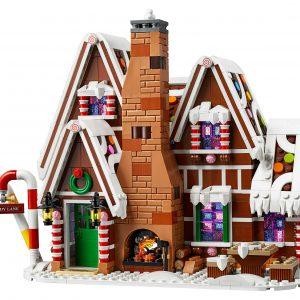 Huur het LEGO® Peperkoekhuisje