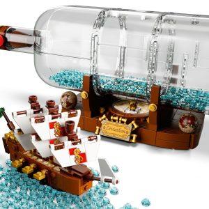 LEGO Schip in een fles